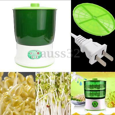 Automatic Bean Sprouts Machine Multi-functional Double Layer Homemade 220-240V