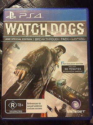 Watchdogs 1 for the PlayStation 4