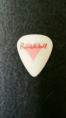 Bruce Springsteens Wife  Rumble Doll Guitar Pick LAST ONE IN STOCK!
