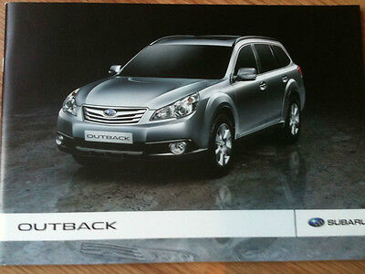 Subaru Outback Sales Brochure 50 Pages