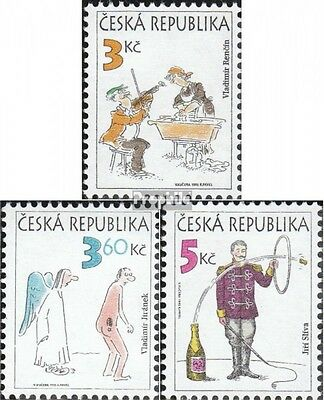 czech republic 84-86 (complete.issue.) fine used / cancelled 1995 humor