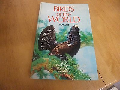 birds of the world in colour hardback book collins