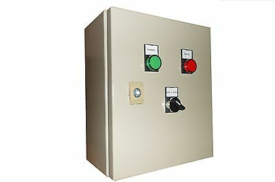 Single phase/three phase DOL pump control panel 2.2kW