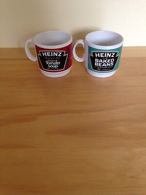 Heinz Tomato Soup And Baked Beans Cups Vintage Retro Collectable