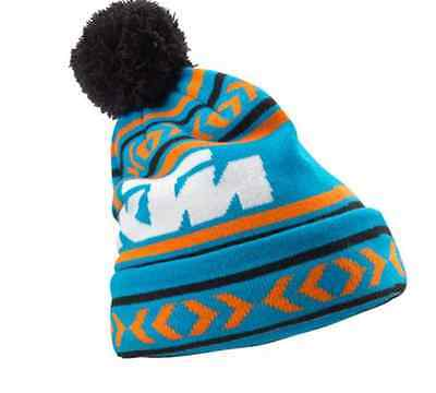 New Ktm Norway Beanie Blue And White Men's One Size 3Pw1758400