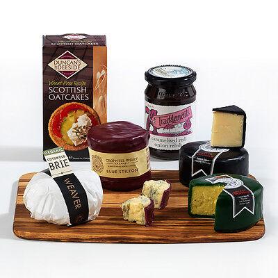 The Complete British Cheese Board Gift Hamper