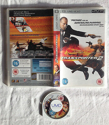 TRANSPORTER 2 avec JASON STATHAM UMD VIDEO POUR SONY PSP