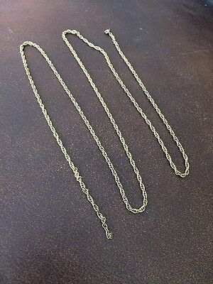 Ladies 24inch 9ct Gold Necklace Chain