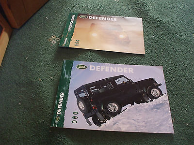 2000 Land Rover Defender Brochure And Specifications