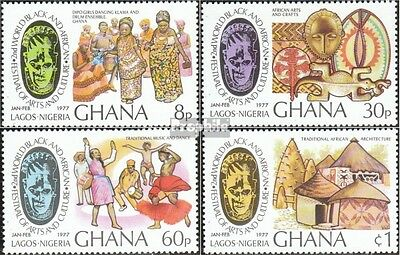 Ghana 678A-681A (complete.issue.) unmounted mint / never hinged 1977 Festival