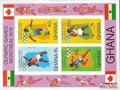Ghana block65b (complete.issue.) unmounted mint / never hinged 1976 Olympia