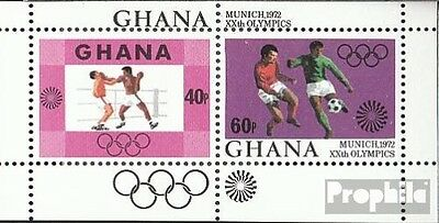 Ghana Block46 (complete.issue.) unmounted mint / never hinged 1972 Olympia