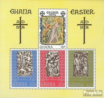 Ghana block54 (complete.issue.) unmounted mint / never hinged 1974 Easter