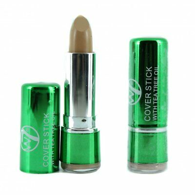 W7 Tea Tree Concealer Cover Stick  For Spots & Blemishes - Choose Your Shade