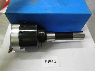 """3"""" Indexable Boring Head With R8 Shank  **new** Pic#21992"""