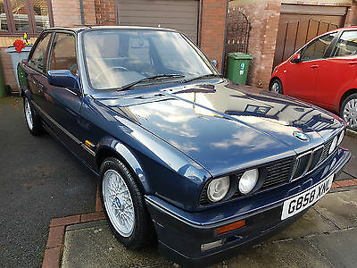BMW E30 318is BLUE FULL BODY RESTORATION 1 YEAR PROGECT £1000'S SPENT LOOK