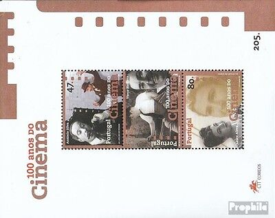 Portugal block117 (complete.issue.) fine used / cancelled 1996 100 years Cinema