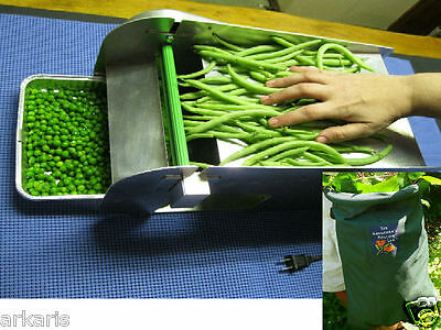 Electric Mr. Pea Sheller w/ Bean Picking Bag for Easy Peas/ Beans Shelling