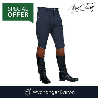 Mark Todd Mens Auckland Breeches (Navy) SPECIAL OFFER