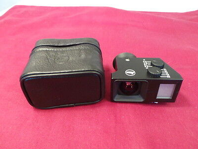 Leica 12011 Universal Wide Angle Viewfinder/finder Leica 28/24/21/18/16Mm Finder
