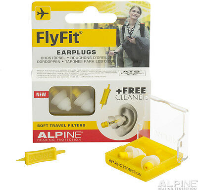 Noise Reducing Earplugs Ear Plugs Sleeping Protection Safe Travel Alpine Flyfit