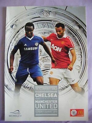 2010 Charity Shield Chelsea V Manchester United