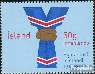 Iceland 1359 (complete.issue.) unmounted mint / never hinged 2012 Scouts