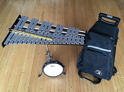 Pearl Bell Kit w/Rolling Bag and Practice Pad