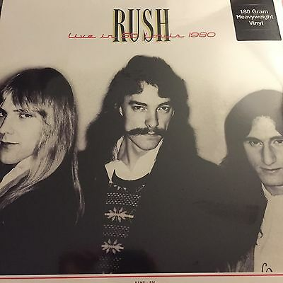 Rush - Live in St Louis 1980 - 2 x 180g Vinyl LP  - New & Sealed