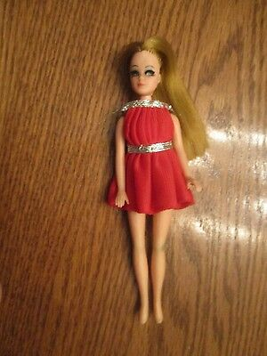 TOPPER Dawn Doll in red dress