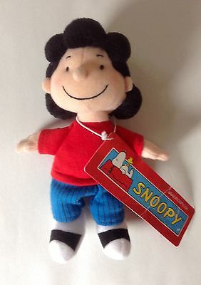 Peanuts Snoopy Lucy Soft Toy (New with Tag)