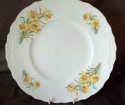 Royal Vale - Daffodil - Cake Plate - Beautiful Original Collectible - L@@k - Vgc