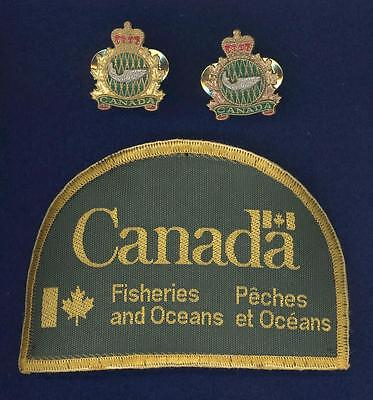 Canada Department of Fisheries and Oceans-badge set (3 pieces)