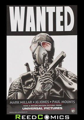 WANTED *NEW EDITION* GRAPHIC NOVEL New Paperback Collect Issues #1-6 Mark Millar