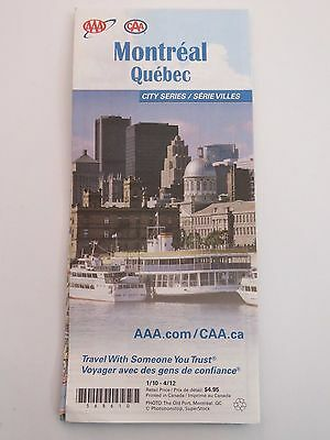 AAA City Series    MONTREAL, QUEBEC, CANADA    District Maps & Street Index