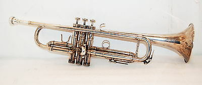 Benge 3X+ 3X Plus MLP Trumpet Silver with Yamaha Case