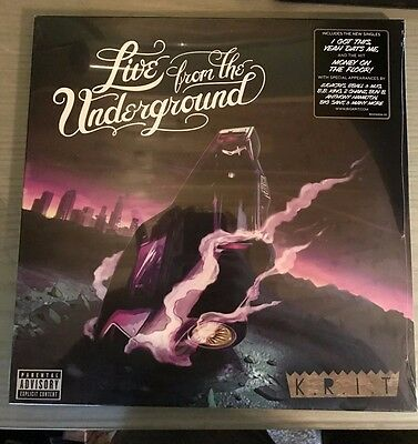 "New Sealed BIG K.R.I.T. - Live From The Underground  2X 12"" VINYL LP KRIT"