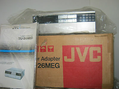 Vintage JVC TU-26MEG Tuner Adapter, new and boxed, with manual