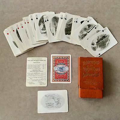 1900 Playing Cards White Pass & Yukon Railroad Photo Cards
