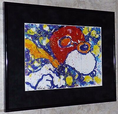 Tom Everhart Peanuts Snoopy Wwi Flying Ace Lunch In Venice Framed Print Schulz