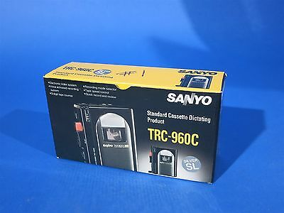 Sanyo TRC-960C Standard Cassette Dictating Talk Book Compact Dictaphone