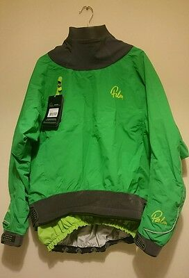Palm Zenith Long Sleeve Semi-Dry Jacket / Cag green xl extra large