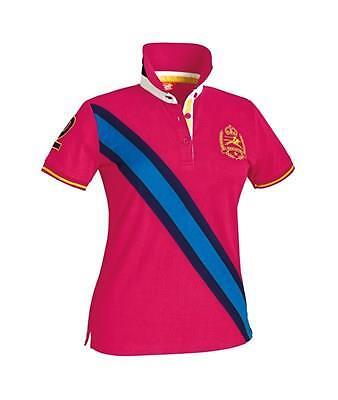 Marigold Junior Polo Top Dark Pink 5-6 Years New