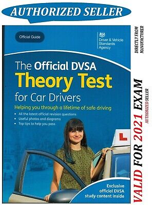 Latest Edition The Official DVSA Theory Test for Car Drivers Book 2019 UK crThrB