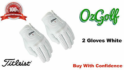 2015 2 Pack Titleist Perma Soft Golf Glove Colours May Vary Size Is Medium