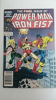 Powerman #125 F/f+ Death Of Iron Fist