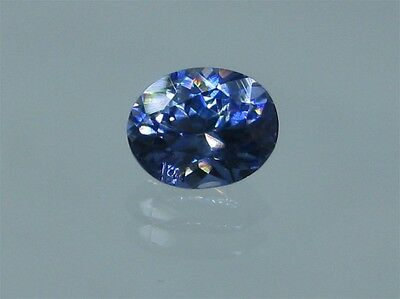 Faceted Benitoite Gemstone, 1.21 carats, VVS, G.I.A. Certified