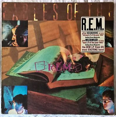 R.e.m. Fables Of The Reconstruction Lp Irs