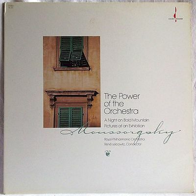 MUSSORGSKY THE POWER OF THE ORCHESTRA LEIBOWITZ LP 180g CHESKY TAS