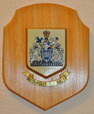 Large Metropolitan Police plaque crest shield Constabulary